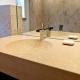 Imprägnieren Sandstein Waschtisch Nachher